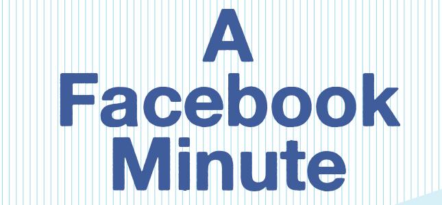 Één minuut op Facebook